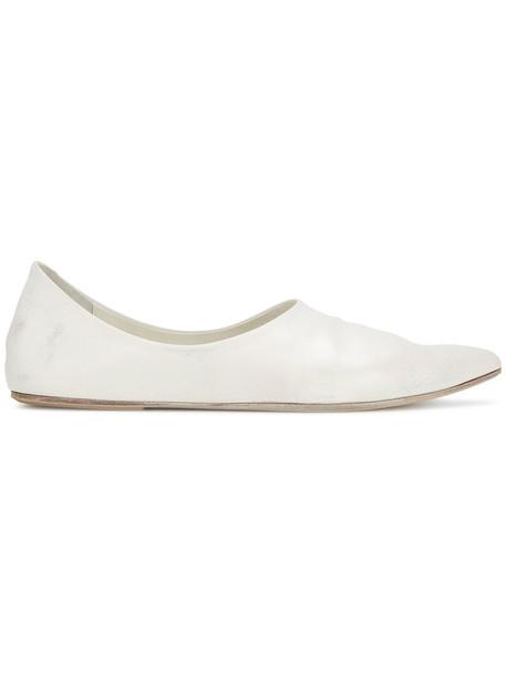 Marsèll women pumps leather white shoes