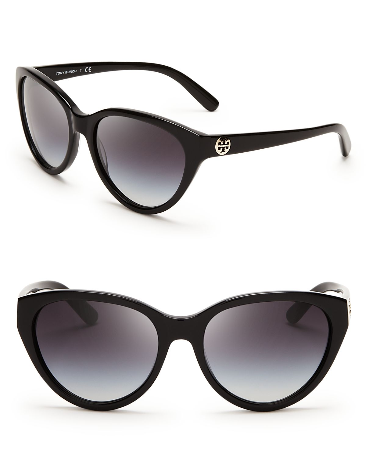 Tory Burch Logo Cat Eye Sunglasses | Bloomingdale's