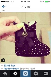 shoes,mk baby boots