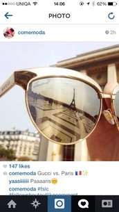 sunglasses,gold,gucci