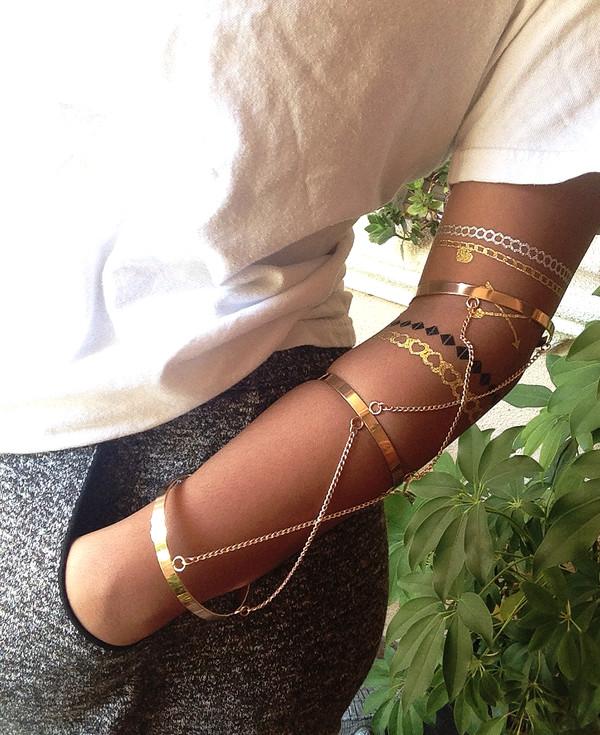 jewels Arm Cuff gold arm cuff bracelets accessories arm accessories gold accessory