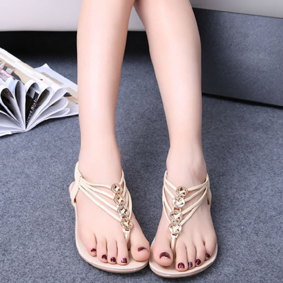 shoes sandal flat