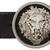 Versus Black Lion Medallion Belt