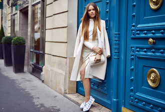 kayture blogger coat shoes skirt bag