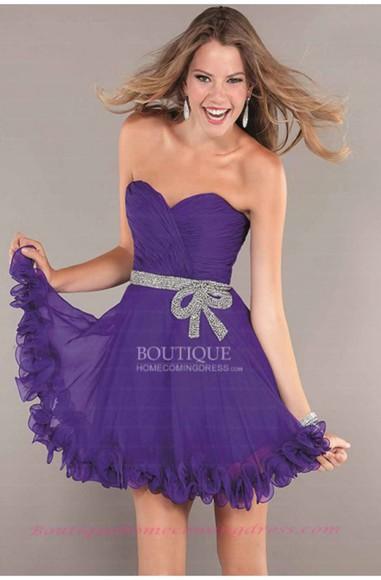prom dress purple dress purple formal dress short dress girl dress homecoming dresses party dress blue dress fashion