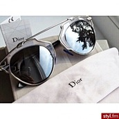 sunglasses,accessories,sun,summer,style,clear,lunettes,vintage,vintage sunglasses,metallic,black and grey,noir et gris,mirrored sunglasses,glasses,sunnies,Accessory,trendy,dior,stylish,fashion