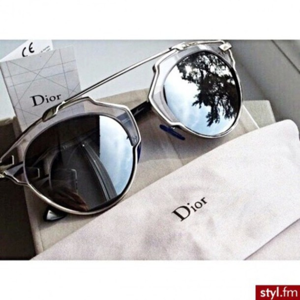sunglasses accessories sun summer style clear lunettes vintage vintage sunglasses metallic black and grey noir et gris mirrored sunglasses glasses sunnies Accessory trendy dior stylish fashion