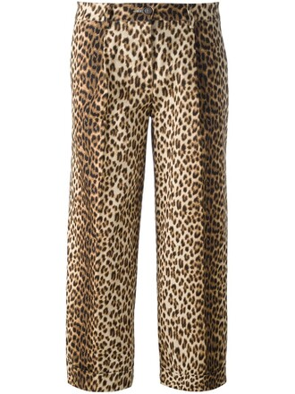 pants women spandex cotton brown