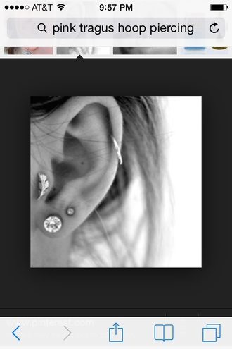 jewels tragus piercing