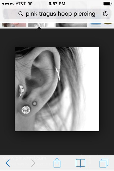 jewels piercing tragus