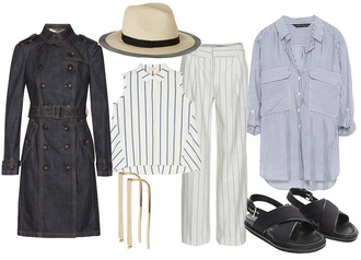 look de pernille blogger coat hat shirt jewels pants