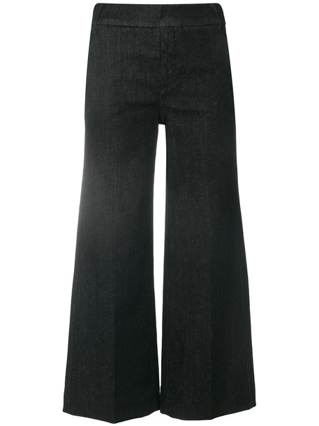 'S Max Mara jeans cropped jeans cropped women spandex cotton black