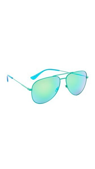 classic sunglasses green