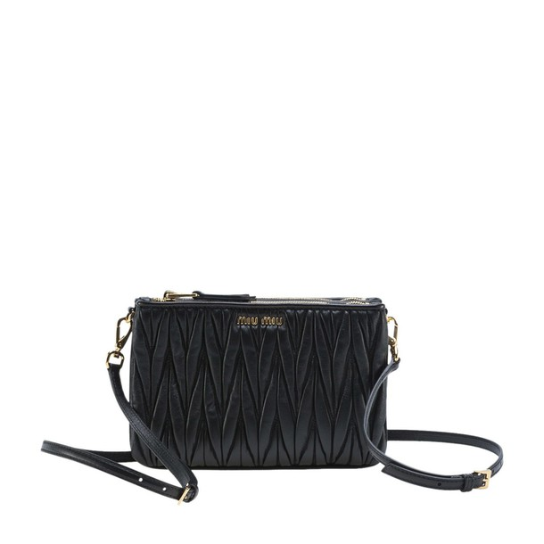 zip bag crossbody bag black
