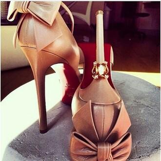 shoes beige shoes beige high heels brown platform brown high heels brown shoes brown sandals platform heels high heels ankle strap heels