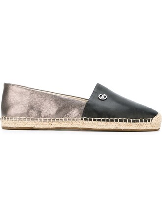 women espadrilles cotton black shoes
