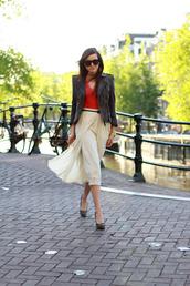 maxi,andy,style scrapbook,white skirt,skirt