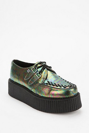 T.U.K. Oil Slick Mondo Creeper - Urban Outfitters ($50-100) - Svpply