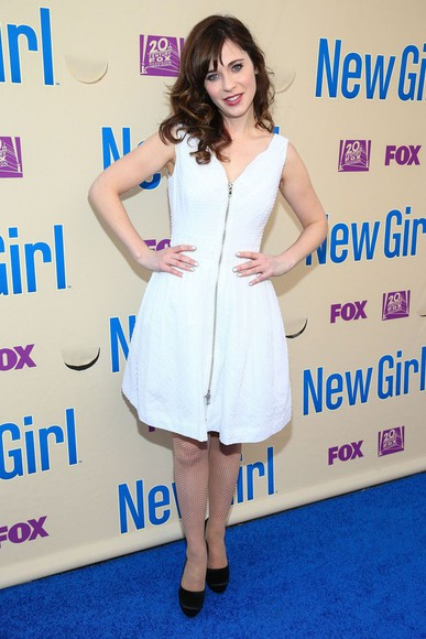 dress new girl zooey deschanel jess day