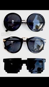 sunglasses,modern classes,black,edgy sunglasses,black sunglasses,round sunglasses,edgy
