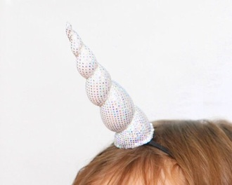 hair accessory funny unicorn