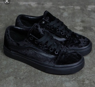 shoes vans velvet oldskool cute low