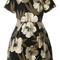 P.a.r.o.s.h. 'corius' dress, women's, size: 42, cotton/polyamide/polyester/alpaca