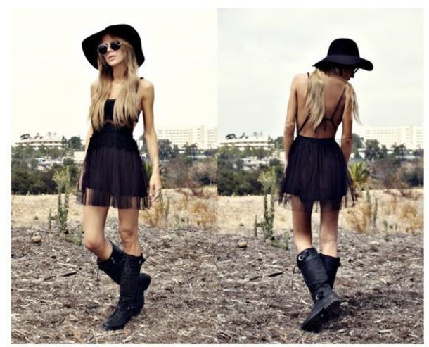 sexy dress black lace