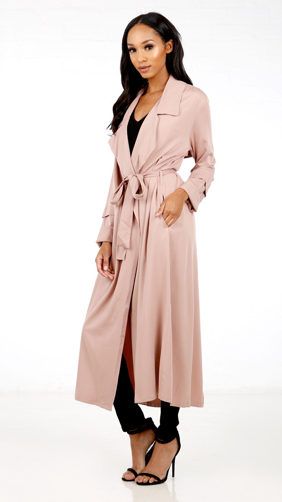 Lexi Long Trench Coat