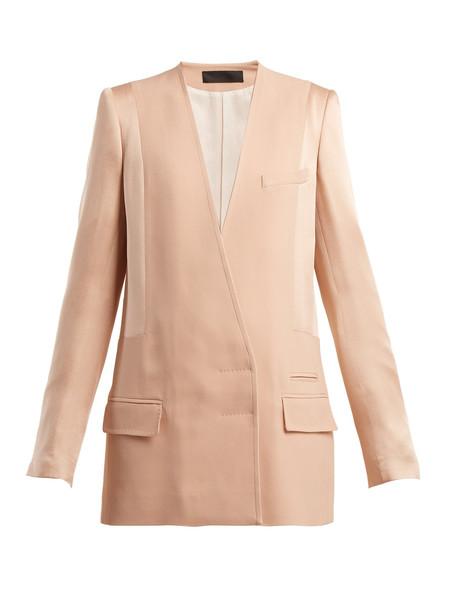 jacket light pink light pink