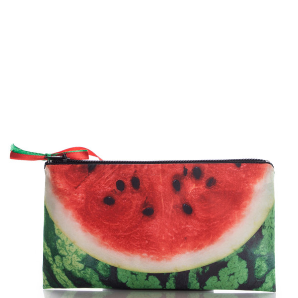 bag watermelon print red green ziziztime cosmetic bag cosmetic case