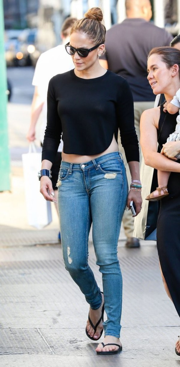 shoes jennifer lopez top crop tops