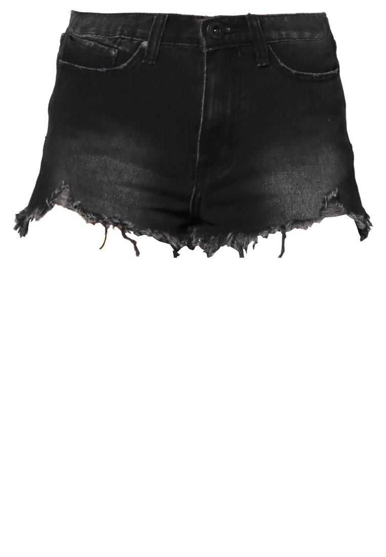 Glamorous Jeans Shorts - black wash - Zalando.de
