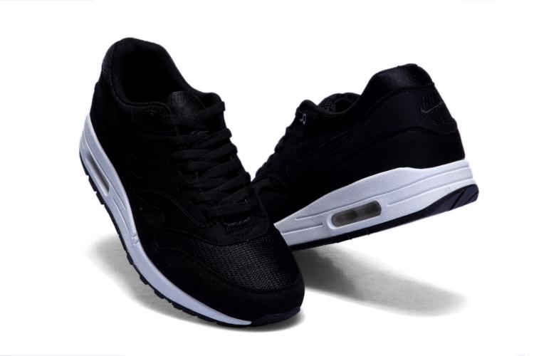 Nike Air Max 1 Mens Black White [6] - $68.58 : Air Max Sneaker Online Store.