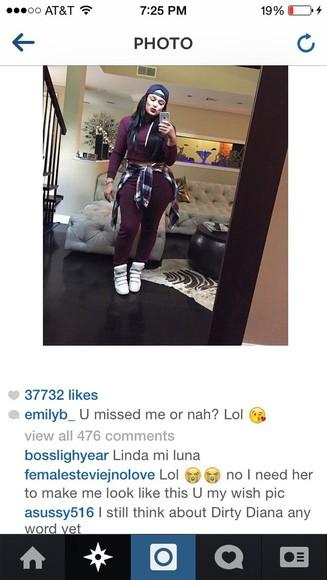 blouse burgundy sweater emily b