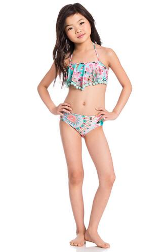 bikini halter bikini teal