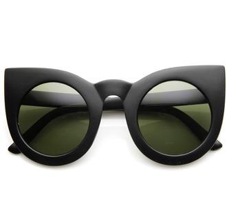 sunglasses cat eye round lenses