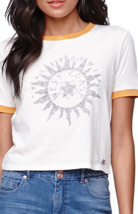 Kendall and Kylie Ringer Baby T-Shirt at PacSun.com