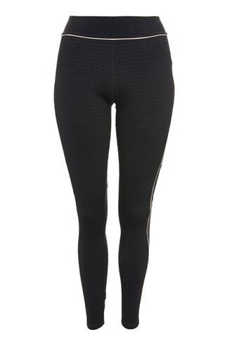 leggings jacquard black pants
