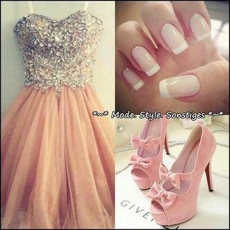 pink dress glitzer glitzer dress glitter dress glitter