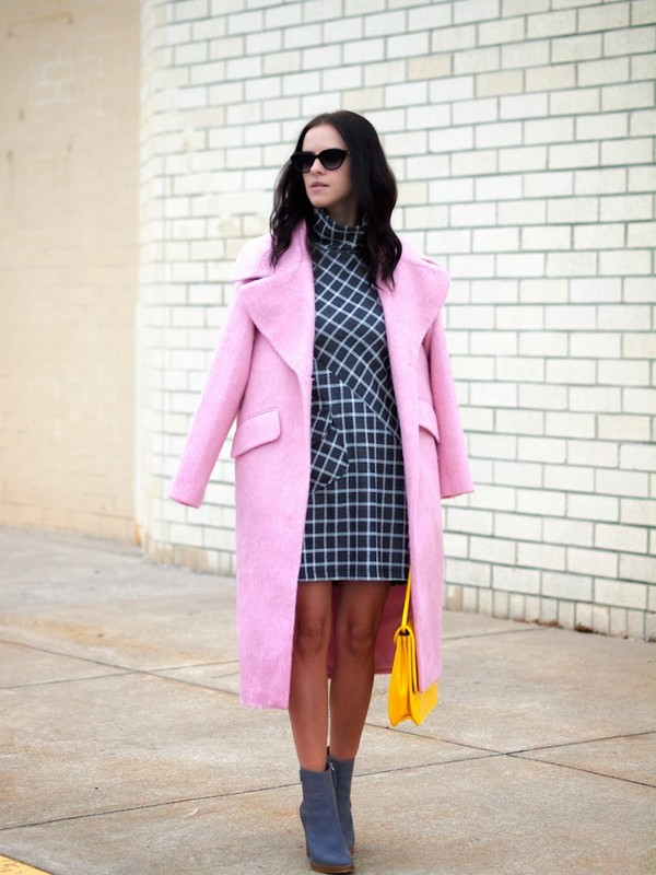 bittersweet colours coat dress shoes bag sunglasses