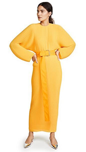 Solace London dress yellow