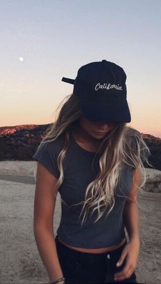 hat california girl beauty california black beach embroidered coachella baddies basic