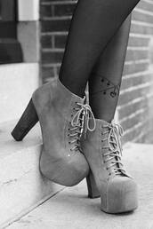 shoes,boots,high heels,heels,block,pretty,style,underwear,tights,jeffrey campbell