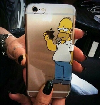 phone cover the simpsons