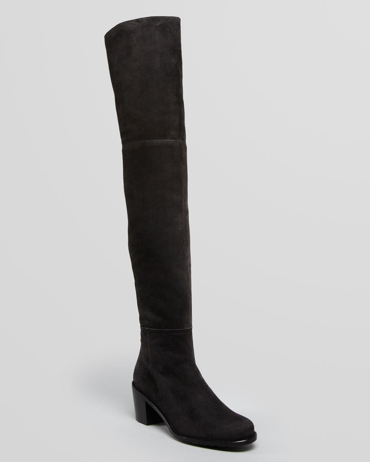 Stuart Weitzman Over The Knee Boots - Hitest Mid Heel | Bloomingdale's