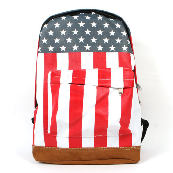 Backpack Olympics America US Flag Banner Shool Bag Women Boy Trip Travel Hiking | eBay