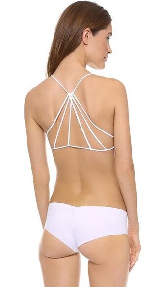 bra strappy bra strappy white underwear
