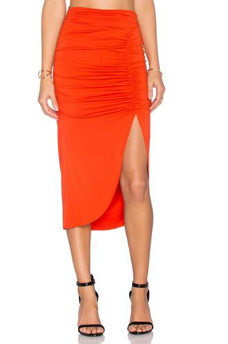 skirt orange