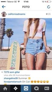 shorts,blue,summer,ummer shorts,jeans,jeansshorts,denim shorts,High waisted shorts